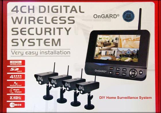 Walk-About Wireless Surveillance System w/ 4 Cameras | Surveillance System Global Security Experts
