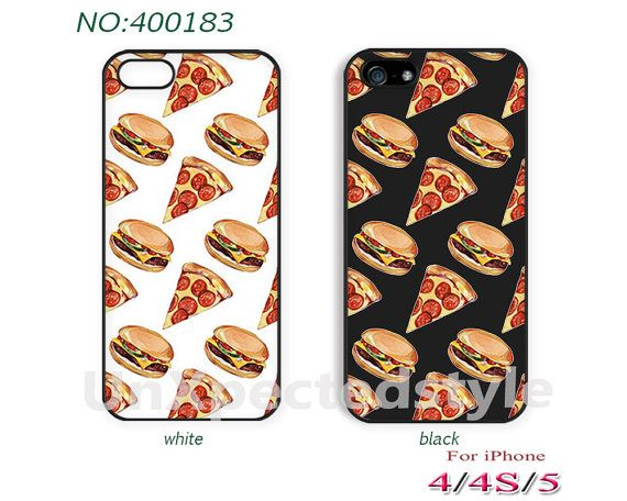 Phone Cases,  iPhone 5 Case,  iPhone 5S/5C Case, iPhone 4/4S Case, pizza, Hamburg, interesting, Phone covers, Skins, Case for iPhone-400183 on Etsy, $8.99