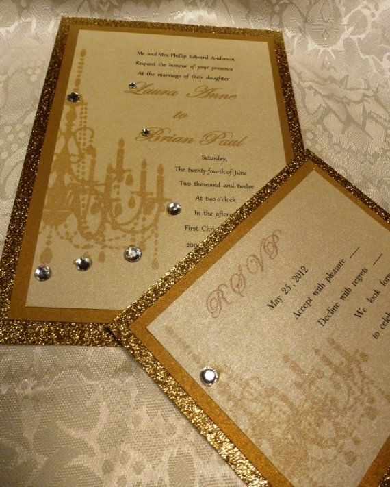 37 best Luxury Wedding Invite images on Pinterest Invitations