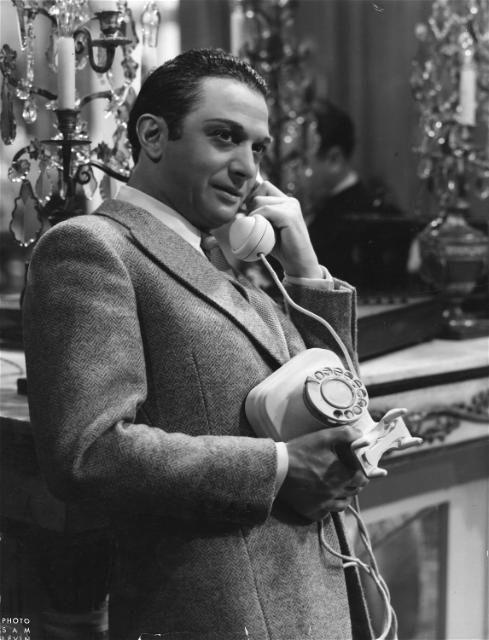"Marcel Dalio - ""La règle du jeu"" (1939) - Costume designer : maison Chanel"