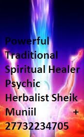 Traditional healer lost love spells that works call +27732234705  Have you tried left and wright without success?  Being cheated as if you own a bank! True spell caster and traditional healers don't ask money today and tomorrow but can even heal you without paying so that they increase on their powers.( Sheik Muniil is one of the kind). Returns lost lover no matter how bad the situation is!! Get job promotion or win tenders if you running a company. website: http://www.sheikmuniil.web.com