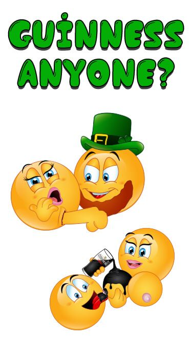 Make your day lucky with the St Paddys Emojis! Celebrate St. Patrick's Day (or Ireland) with sexy st. paddy emoticons.