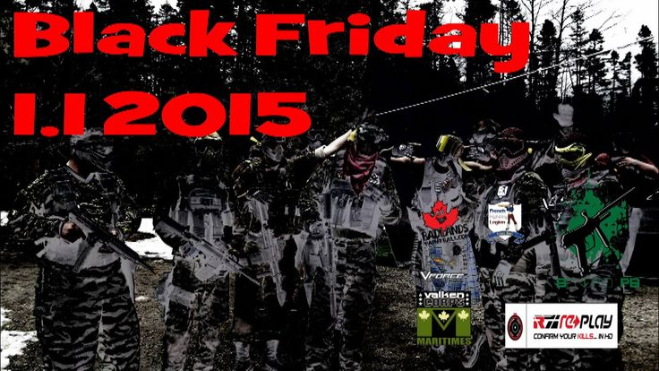 MagFed Paintball  -Mersey road Black Friday 1.1  Replay XD
