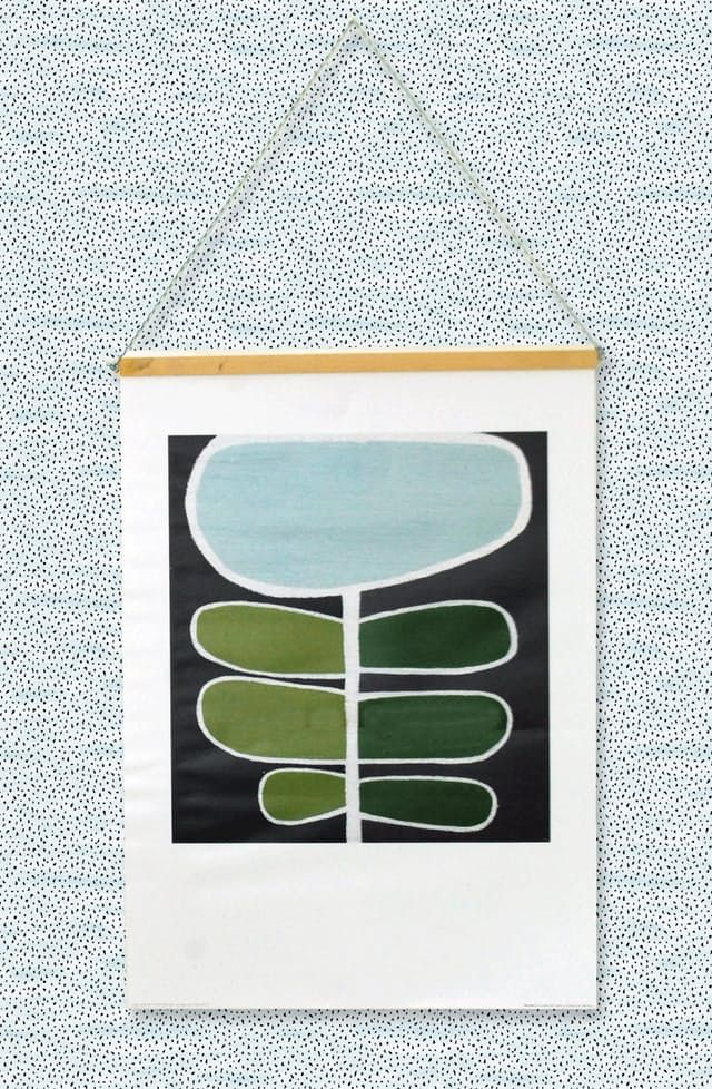 How to make a magnetic picture poster frame DIY tutorial - could also use magnetic tape.