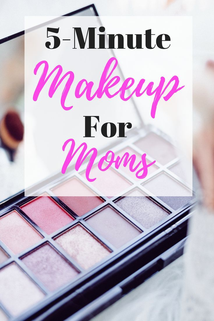 This is my quick, 5-minute makeup routine that I really can do one-handed! I learned my tricks when I was a MAC makeup artist, prior to being a mom.