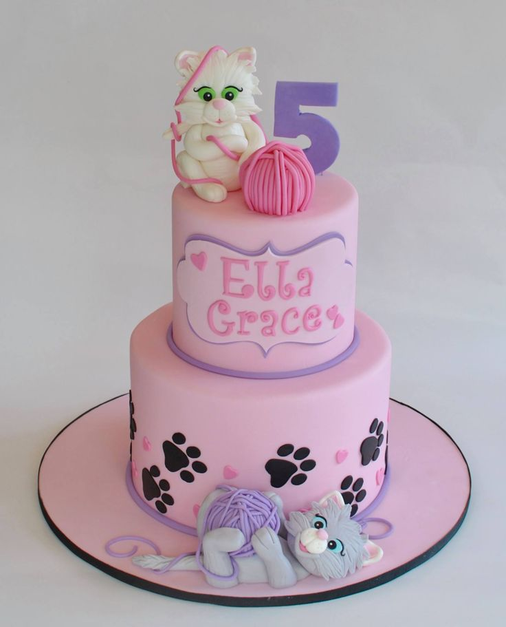 17 Best ideas about Cat Cakes on Pinterest Kitten cake ...