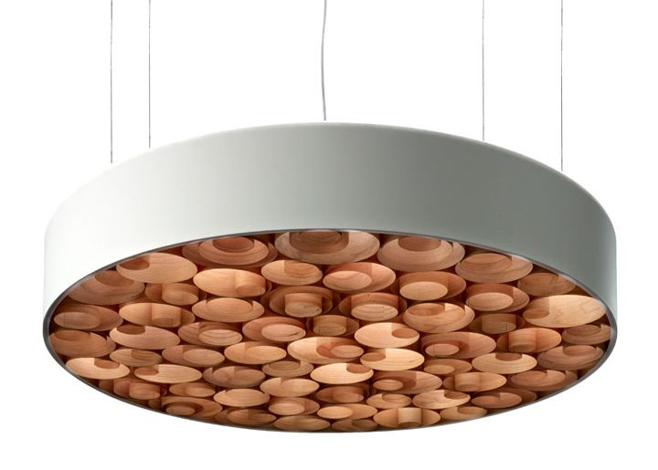 Spiro suspension lamp by Remedios Simon for LZF 06
