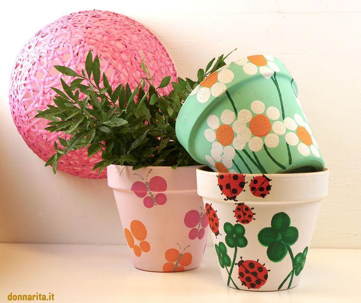Oltre 25 Fantastiche Idee Su Vasi Di Fiori Decorati Su