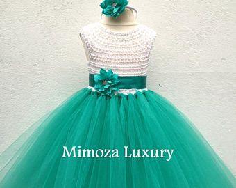 VENTA de satén vestido de tutú del bebé vestido de Dama de