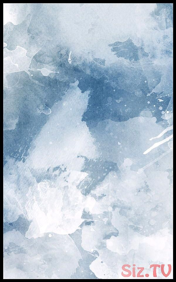Blue And White Watercolour Paint Wallpapermuralswallpaper Blue And