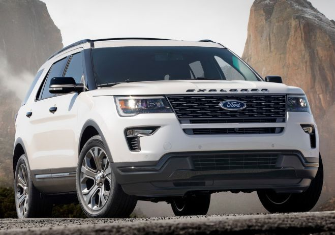 optional 3.5-liter EcoBoost V-6 unit. This second engine will be able of generating up to 365 ponies at 5,500 rpm...2018 Ford Explorer Sport price...  #2018FordExplorerSport