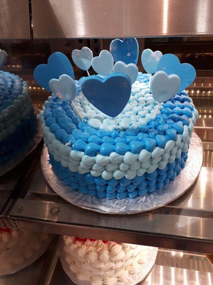 Valentine blue cake.  Https://www.ejoycity.ca