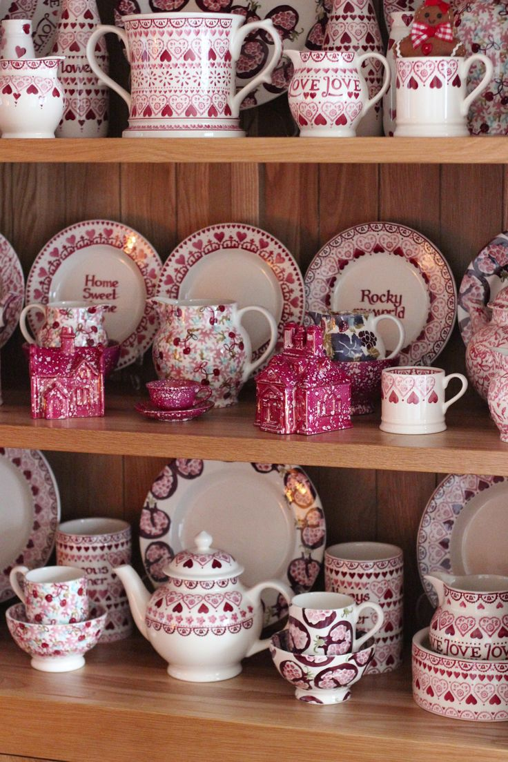 Emma Bridgewater Sampler Collection mixed with pinky delights