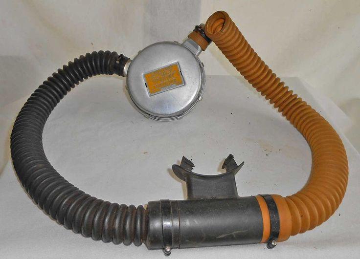 Vintage Aqua Lung US Divers Double Hose Regulator DW Mistral Cousteau Gagnan USD #USDivers