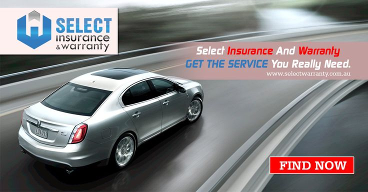 Select Insurance And Warranty Get the Service You Really Need. http://www.selectwarranty.com.au/