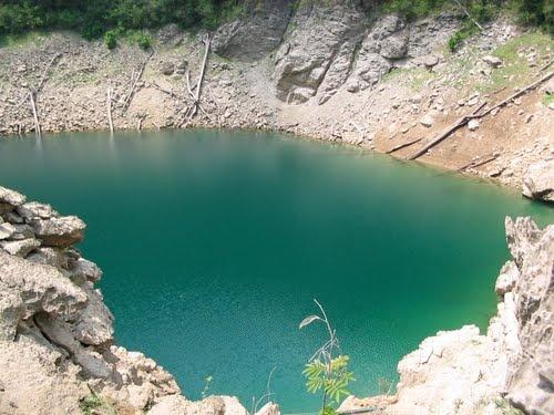 Sepalau Lagoons in Chisec, Alta Verapaz, Guatemala