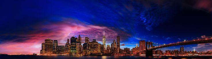 New York Skyline - null
