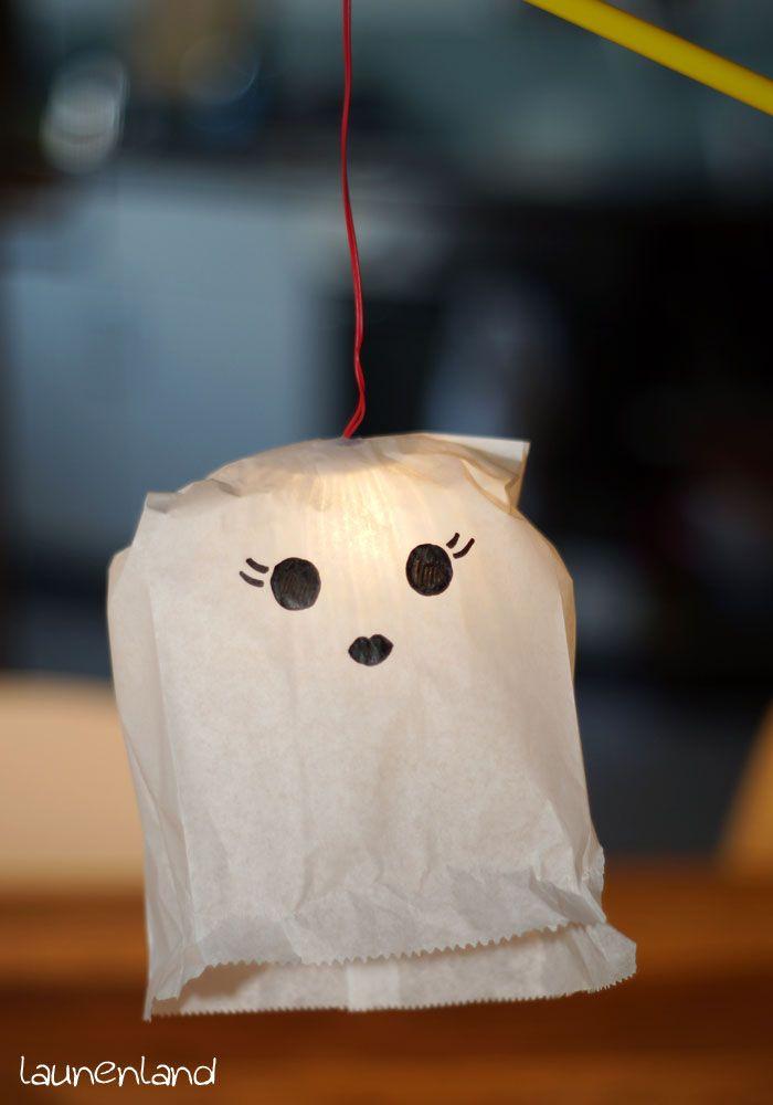 DIY Gespenster Laterne