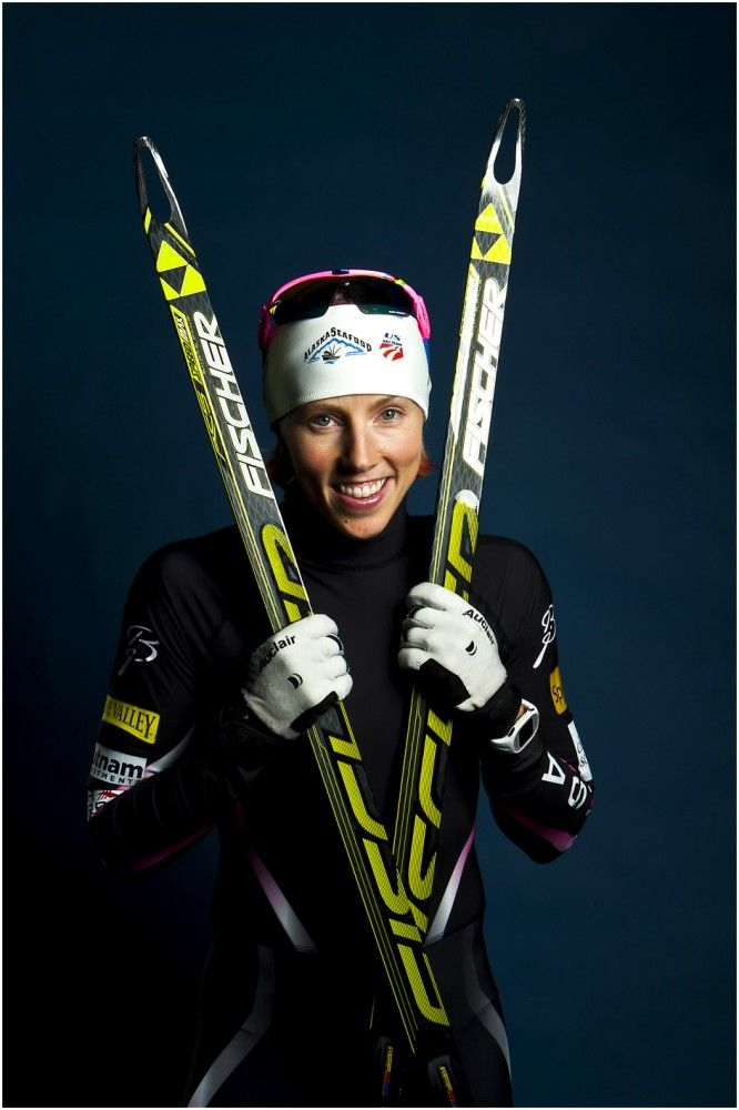 Cross country skiing athlete Kikkan Randall