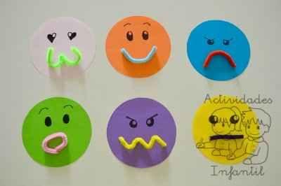 Un juego para la educación emocional: Las caras sorprendentes » Actividades infantil