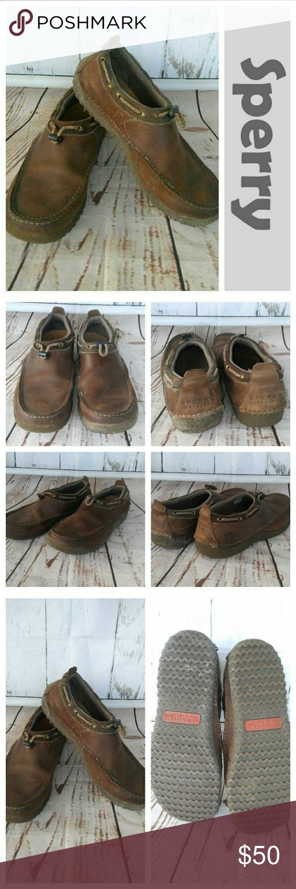 SPERRY boat shoes Brown SPERRY shoes Size 9m Sperry Shoes Boat Shoes