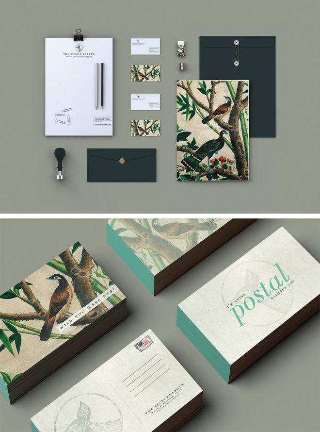Miss Moss : Page 3 | #stationary #corporate #design #corporatedesign #identity #branding #marketing < repinned by www.BlickeDeeler.de | Take a look at www.LogoGestaltung-Hamburg.de
