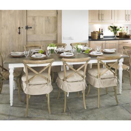 Rustic Isabella dining table | Oka
