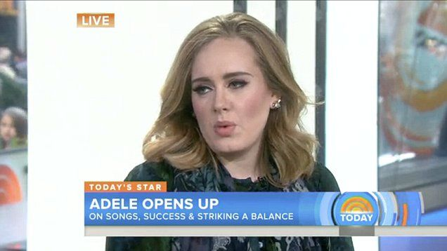 Adele opens up her relationship with her son Angelo. Adele talked to Today Show Host Matt Lauer to promote her new album 25, she explained her long break from performing as time for her son.