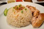 Roast Hainanese Chicken Rice with Chilli & Ginger Sauce Recipe