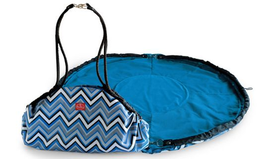 Portable Play Mat + Toy Carrying Case (2 in 1) - Take Playtime Anywhere!