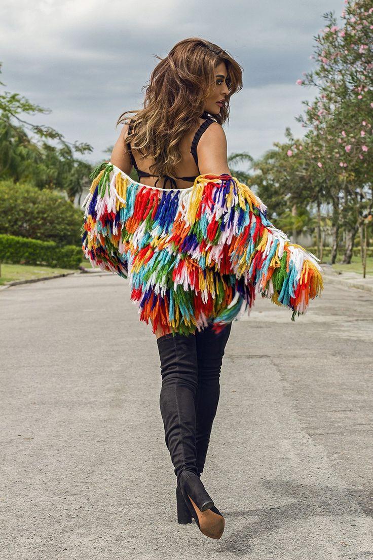 Nos vemos no Domingo de Carnaval, Ju!  (Foto: Sergio Baia / Divulgação)