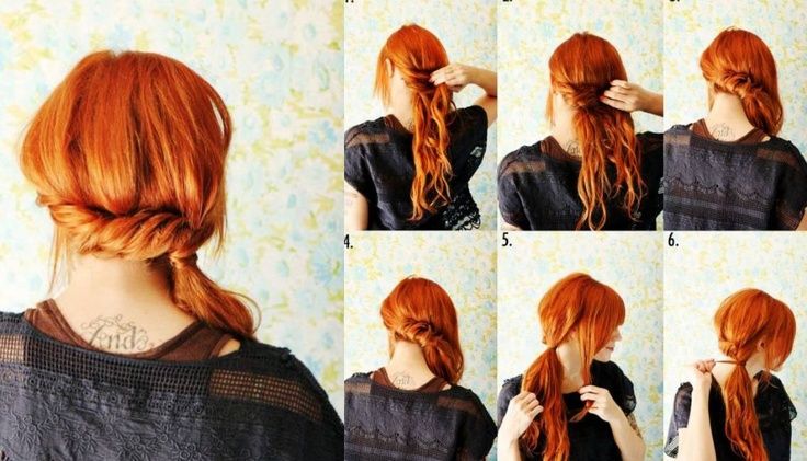 step by step hairstyles easy diy twist | Step by Step ...