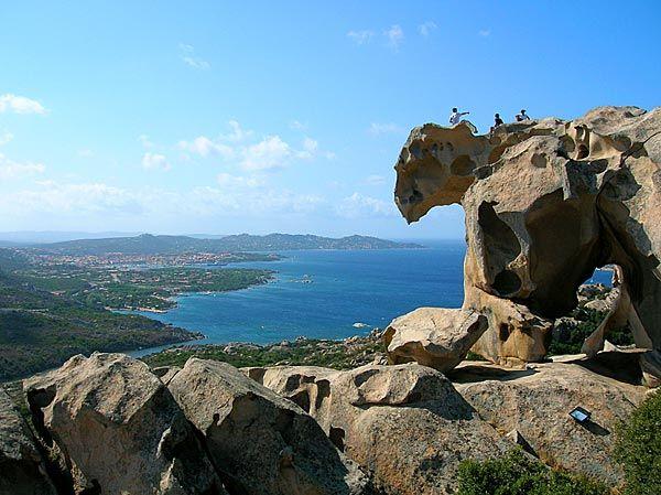 The Bear's Stone, near Palau, Sardinia