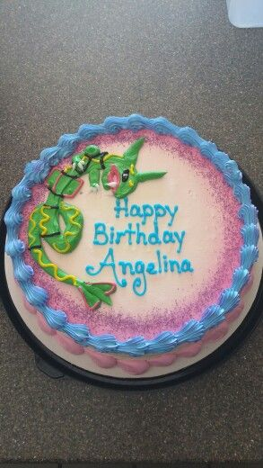 Dairy Queen Rayquaza Pokemon Cake My Dairy Queen Cakes Pinterest Dairy Queen Dairy And