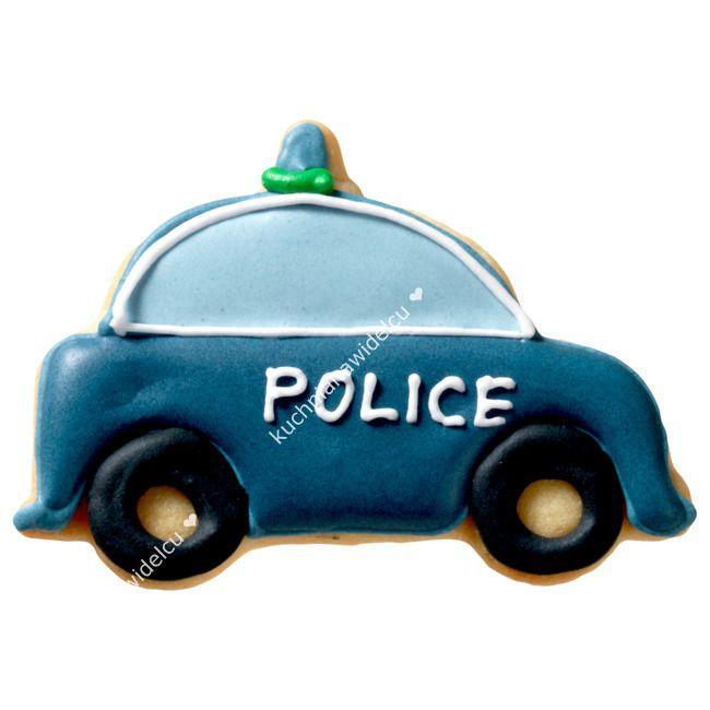 Wykrawaczka stalowa do ciastek - radiowóz policyjny | BIRKMANN | |