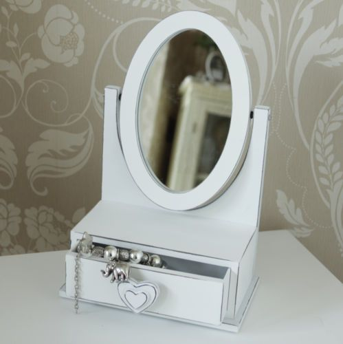 Table-top-mirror-with-drawer-shabby-vintage-chic-dressing-table-girls-bedroom