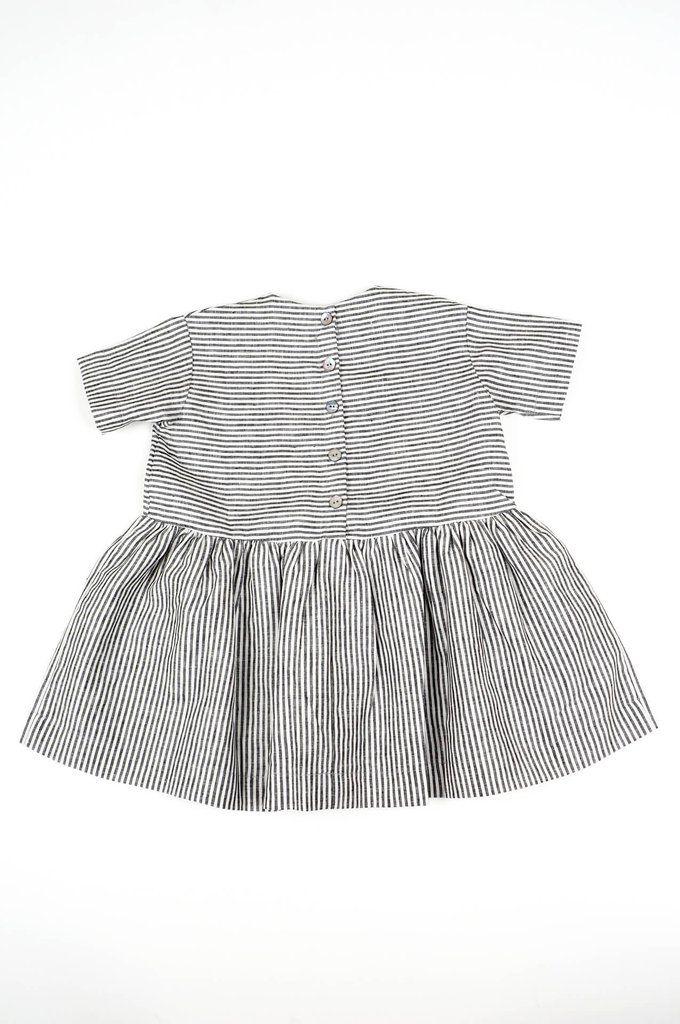Pocket Dress Stripes
