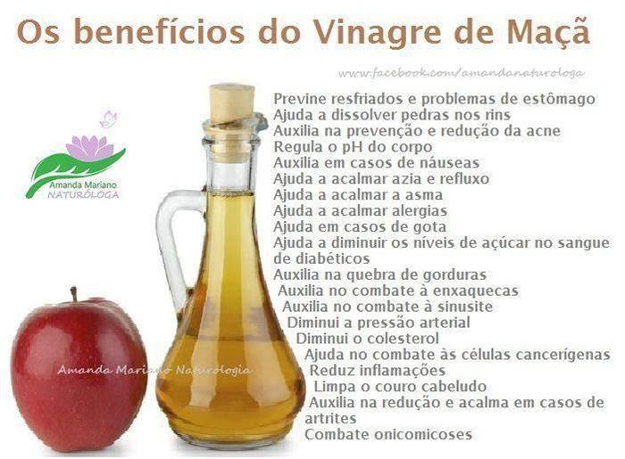 5 Alimentos Saudaveis Que Ajudam A Queimar Gordura Vinagre De