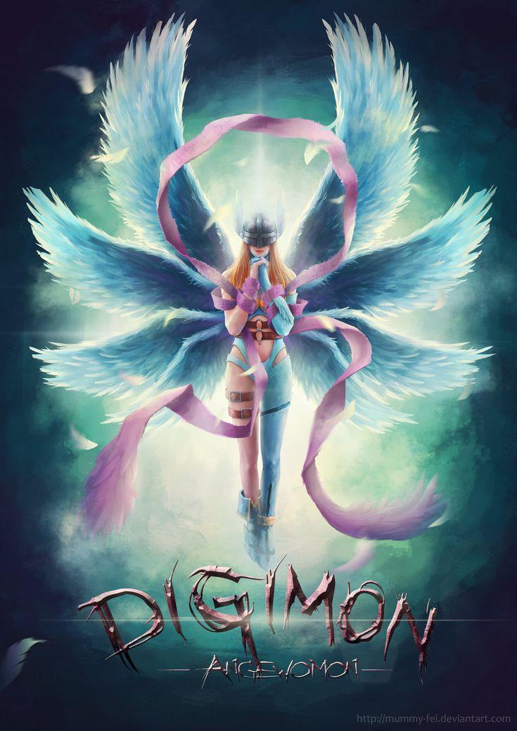 Angewomon by Mummy-fei on DeviantArt | Digimon | Pinterest ...: https://www.pinterest.com/pin/303781937345188421/