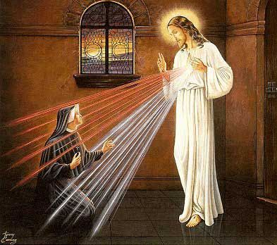 St. Faustina Kowalska - Nun and mystic, originator of the Divine Mercy movement