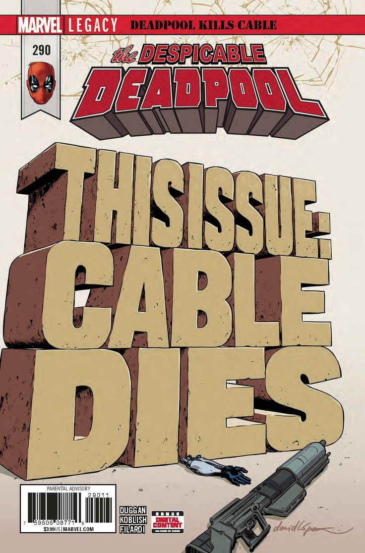 Despicable Deadpool (2017) Issue #290