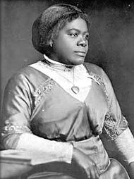 Mary McLeod Bethune (7/10/1875 - 5/18/1955) founded what would become Bethune-Cookman University in 1904, financing it by selling sweet potato pies and soliciting donations from wealthy businessmen vacationing in Daytona Beach. She was one of the most influential African Americans of the early 20th century, serving as an advisor to presidents from Coolidge to Truman and a consultant to the Women's Army Corps (WAC) and founding of the UN.