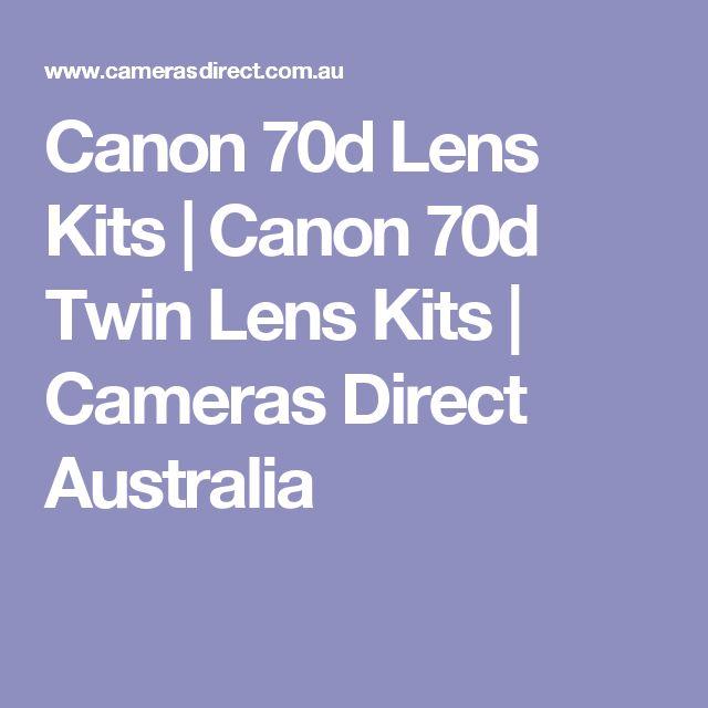 Canon 70d Lens Kits | Canon 70d Twin Lens Kits | Cameras Direct Australia