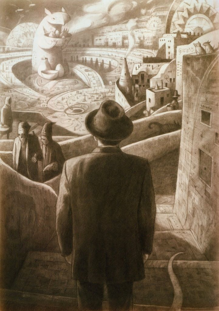 Shaun Tan http://haasnootstudio.blogspot.co.uk/2011/05/shaun-tan.html