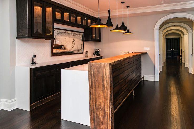 vanessa deleon kitchens wet bar bar area live edge countertops wooden live edge counters. Black Bedroom Furniture Sets. Home Design Ideas