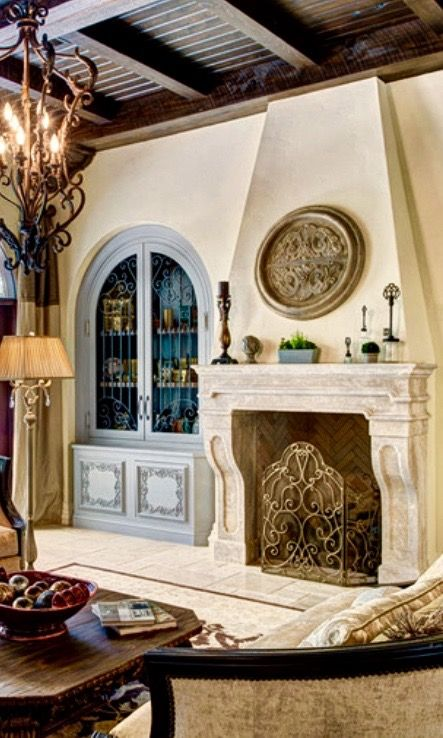 25 best ideas about old world style on pinterest tuscan for Mediterranean fireplace designs