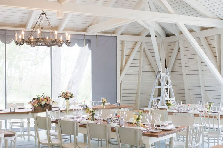 Elegant rustic style pavilion. Perfect wedding venue.
