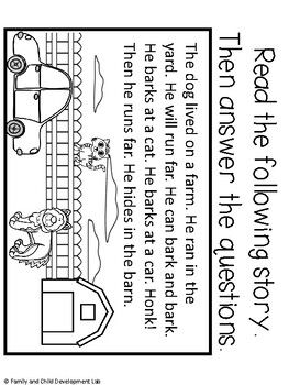 Second Grade Readiness Packet (First Grade Review