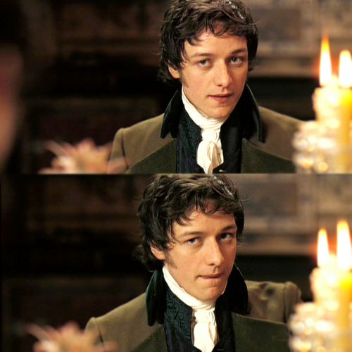 Loooove James McAvoy...especially in Becoming Jane