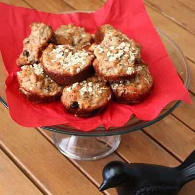 Protein Muffins - I need to try this, I'm trying to find the closest thing to the muesli bread in the protein bistro box at Starbucks.